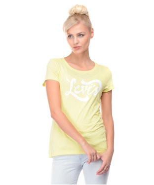 Levis Yellow S/S Top