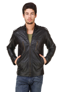 Smerize Men's Wolverine Faux Leather Jacket $ 20SM
