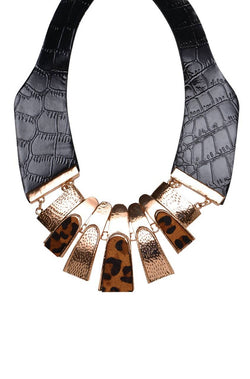 Safari Bib Necklace - JGEPNEC9736
