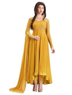 YOYO Fashion Georgette Anarkali Semi-Stitched salwar suit $ F1135