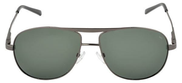 Lawman UV Protected Green Unisex Sunglasses-LawmanPg3 Sunglasses LM4503 C1 (Green)