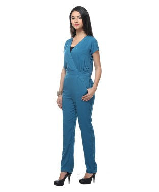 Free Spirit Blue Jumpsuit