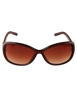 Brown Smart Sunglasses For Women-AD_1217_BrownBrown