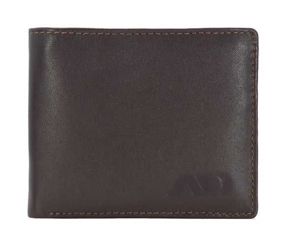 Annodyne Men's BROWN FELIX Genuine Leather Wallet_A528WM $ R_A528WM_DRK_BRN
