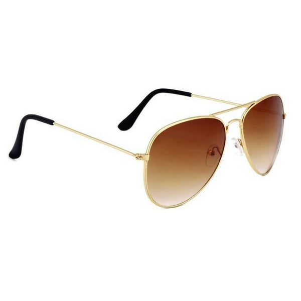 Benour Men's Brown Aviator Sunglasses $ BENAV039