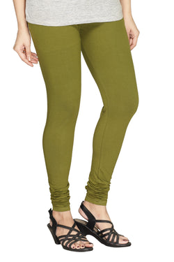 Minu   Premium Seaweed Green  womens  Leggings $ PL_26