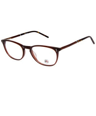 David Blake Brown Round Full Rim EyeFrame
