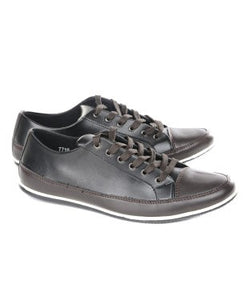 Harry Hill Choco And Black Casual Shoe