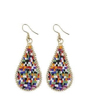 aradhya Beads Alloy, Metal Drop Earring