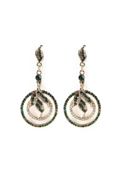 Bling Ring Earrings - JSTNEAR0659