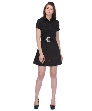BCBG Short Dress With Belt