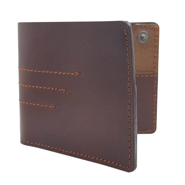Baluchi's Brown 100% Genuine Leather Handcrafted Casual Wallet for Men $ BLC_WLM_01