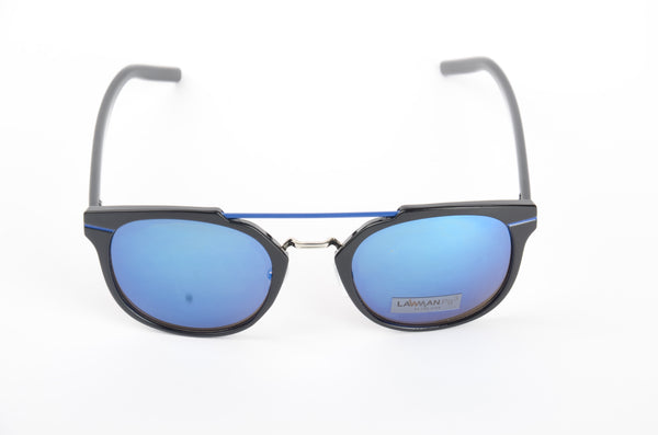 Lawman UV Protected Wayferer Blue Unisex Sunglasses-LawmanPg3 Sunglasses LA2907 C5