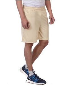 Dazzgear Beige Cotton Shorts