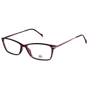 David Blake Pink Rectangular Full Rim EyeFrame