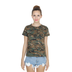 Second Half Camo Regular Top-SH0010