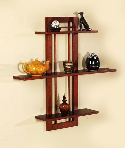 THE NEW LOOK Wall Shelves Cum Rack 3-Tier-100000641799