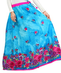 Cambric Cotton Long Skirt
