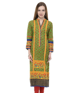 SHREE Green Kurta