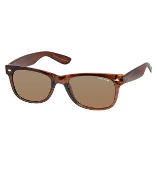 David Blake Brown Wayfarer UV Protected Sunglass