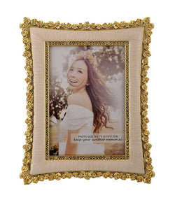 International Gift Photo Frame (24 cm x 18 cm x 4 cm, Gold) $ IGF-109