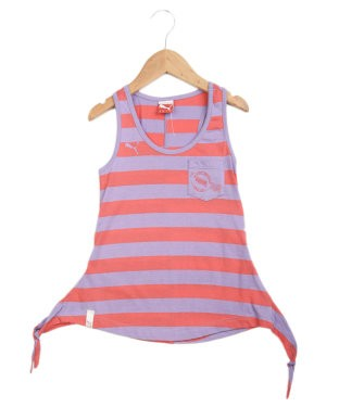 Puma Pink And Lavender Tank Top
