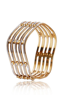 Metal Wave Bangle