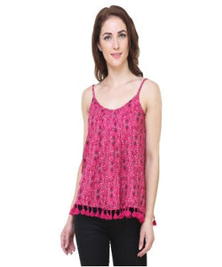 Respose Printed casual camisole top