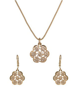 BAUBLE BURST Pendant with Chain and Earring