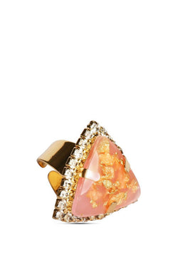 Pink Burst Cocktail Ring - JISSRIN4515