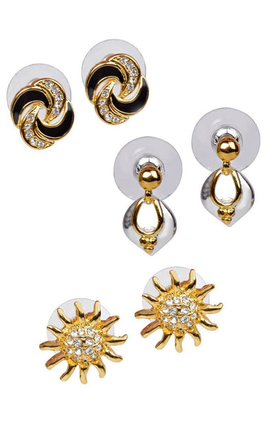 Day N Night Earring (Set of 3) - JNFHTRS3060
