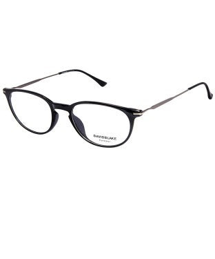 David Blake Black Round Full Rim EyeFrame