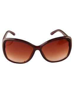 Brown Smart Sunglasses For Women-AD_1214_BrownBrown