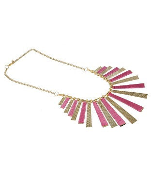 aradhya Yellow Gold Plated Alloy Necklace
