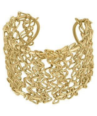 aradhya Alloy Yellow Gold Charm Bracelet