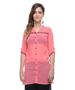 RAASAA Light Pink Tunic
