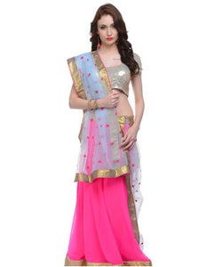 Georgette Lehenga Choli and Dupatta