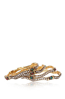 Bengal Wave Bangle Set