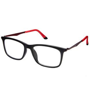 Cardon Matte Black Rectangular Full Rim EyeFrame