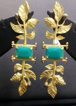 Gaurik Designer earring $ Earrings No. 09