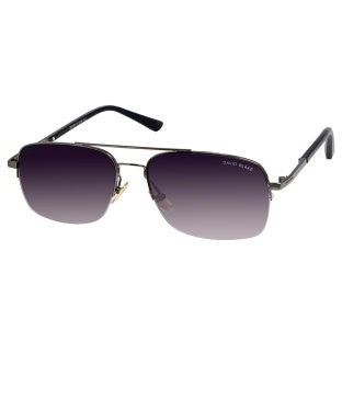 David Blake Grey Aviator UV Protection Sunglass