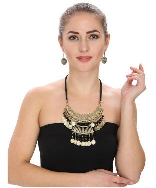 Aradhya Alloy Jewel Set (Gold)