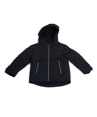 United Colors Of Benetton Black Hooded F/S Jacket