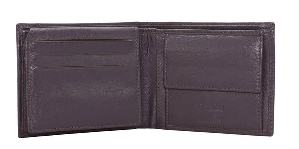 Annodyne Men's BROWN MARTIN Genuine Leather Wallet_A508WM $ R_A508WM_DRK_BRN