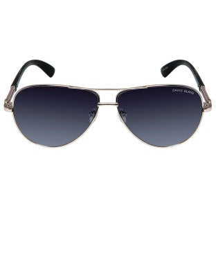 David Blake Grey Aviator UV Protection Gradient Sunglass