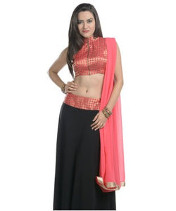 Georgette Lehenga with Choli & Dupatta