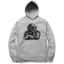 Partum Corde Unisex Melang Hoodies Sweat Shirts And Hoodies Diver Soldier $ Diver Soldier6004