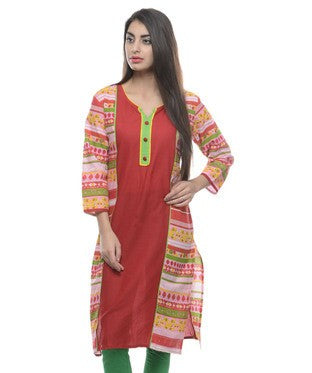 KYAARA Red Kurta