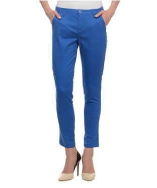 United Colors Of Benetton Blue Trouser