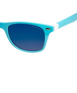 aeac9b6b6f David Blake Blue Wayfarer Mirrored UV Protection Sunglass – Fashion ...
